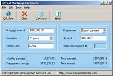 Download Fast Mortgage Estimator