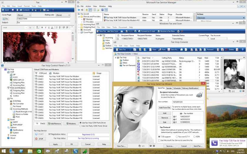 Download Fax Voip T38 Fax & Voice