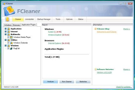 Download FCleaner Portable