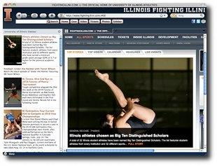 Download Fighting Illini IE Browser Theme