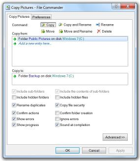 Download File Commander