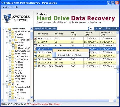 Download File Restore Program