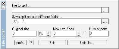 Download File Spliter