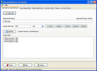 Download File Splitter PRO