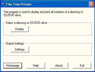 Download File Tree Printer
