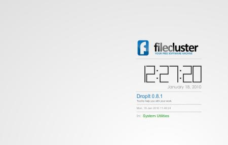 Download FileCluster Screensaver