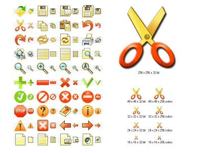 Download Fire Toolbar Icons
