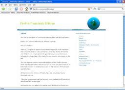 Download Firefox Community Edition Standard