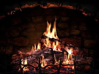 Download Fireplace 3D Screensaver