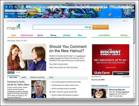 Download Fish Aquarium Firefox Theme