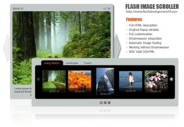 Download Flash Image Scroller DW Extension