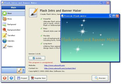 Download Flash Intro and Banner Maker