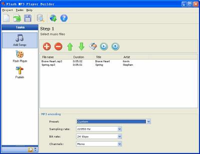 Download Flash MP3 Player Builder