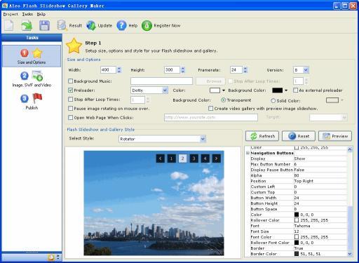Download Flash Slideshow Gallery Maker