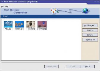Download Flash Slideshow Generator