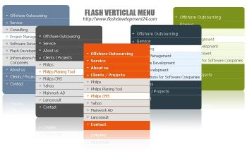 Download Flash Vertical Menu DW Extension