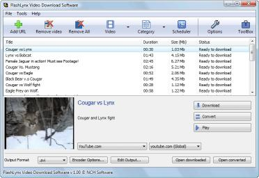 Download FlashLynx Free YouTube Video Downloader