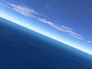 Download Flight over sea