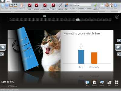 Flipdoo Publisher | Page Flip Converting