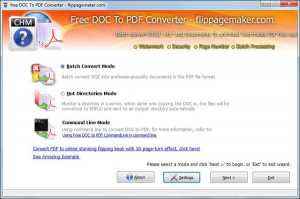 Flippagemaker Doc to PDF
