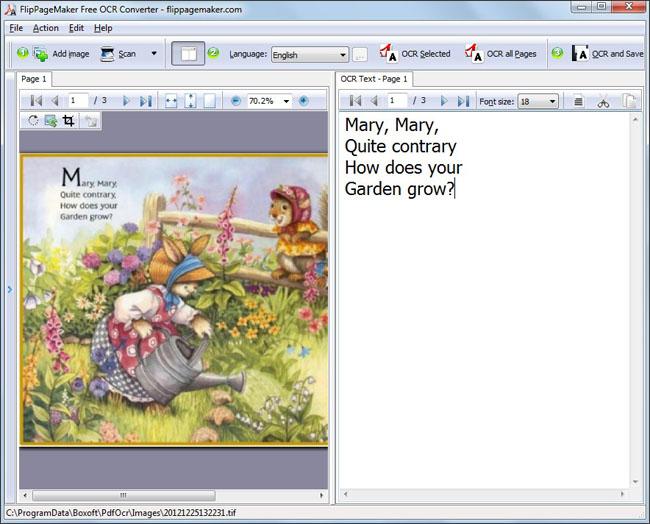 FlipPageMaker Free OCR Converter - standaloneinstaller com