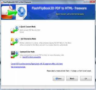 FlippingBook3D PDF to HTML Converter