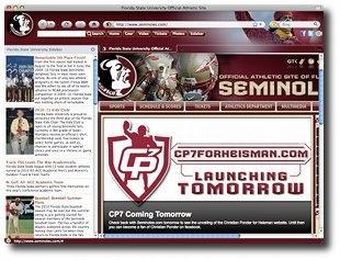 Download Florida State Seminoles Firefox Theme