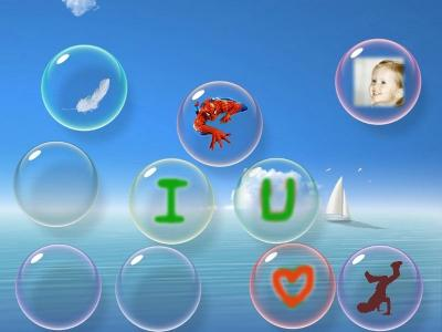 Download flow Bubbles screensaver