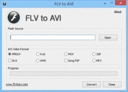 Download FLV to AVI