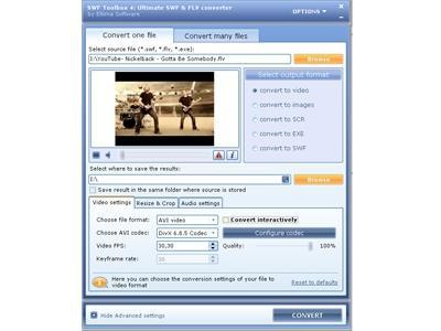 Download FLV to AVI Converter