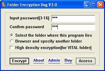 Download Folder Encryption Dog