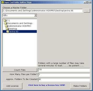 Download Folder Splitter Mega