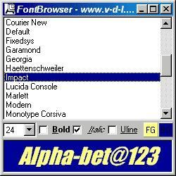 Download FontBrowser