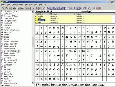 Download FontMap