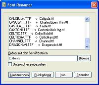 Download FontRenamer