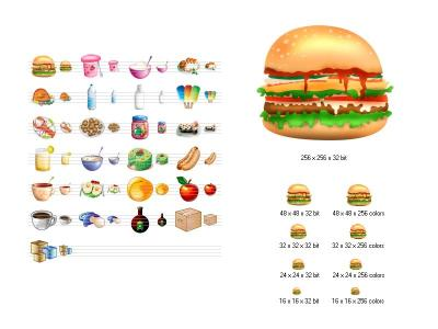 Download Food Icon Library