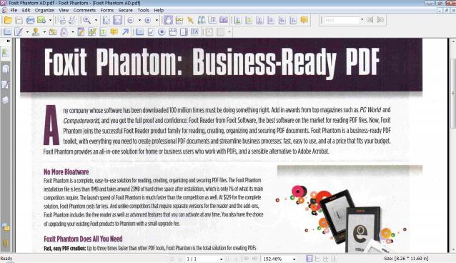Download Foxit Phantom