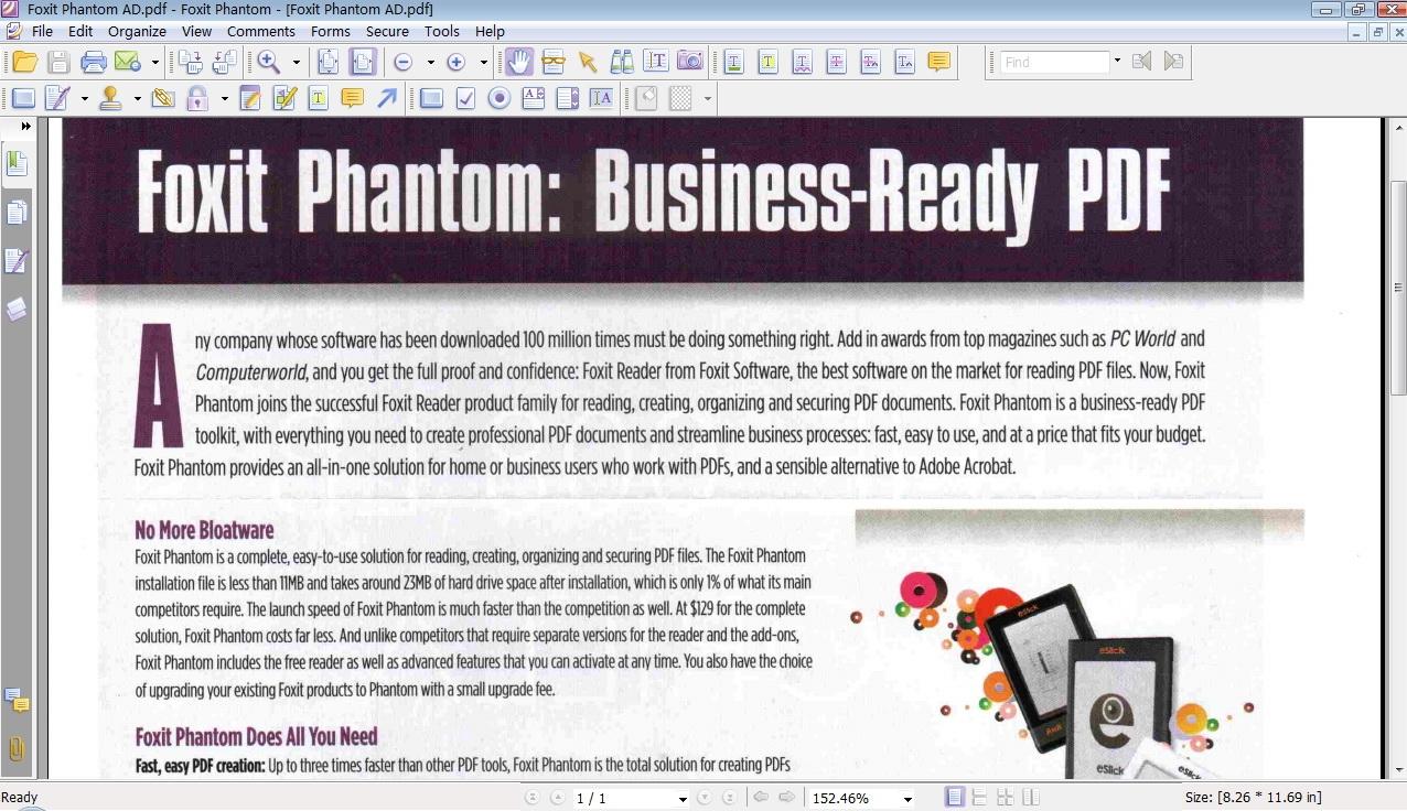 Foxit Phantom PDF Suite - standaloneinstaller com
