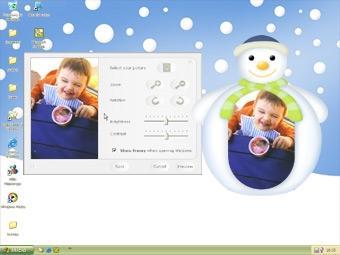 Download Framy Green Snowman