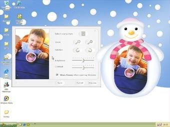 Download Framy Pink Snowman