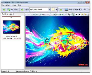 Free 3DPageFlip Image to PDF Converter
