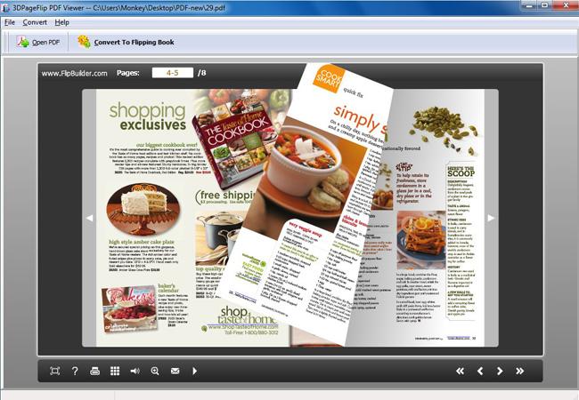 Free 3DPageFlip PDF Viewer - standaloneinstaller com