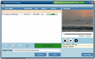 Download Free 3GP to AVI Converter
