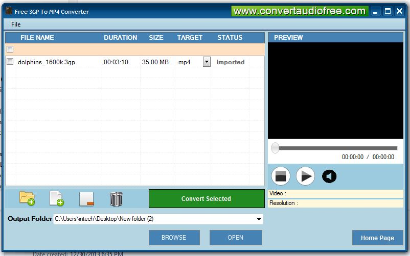 3gp to mp4 converter free download