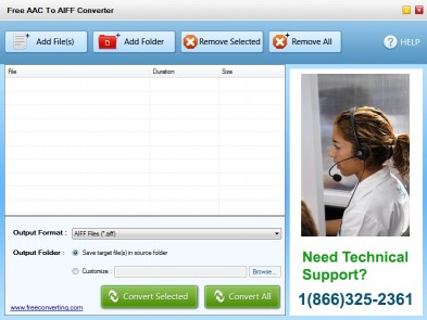 Download Free AAC to AIFF Converter