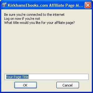Download Free Affiliate Package for Affiliate Pag