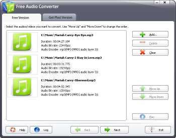 Free Audio Converter 2016