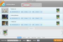 Free AVCHD to iMovie for Mac