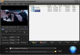 Free AVI Video Converter Factory