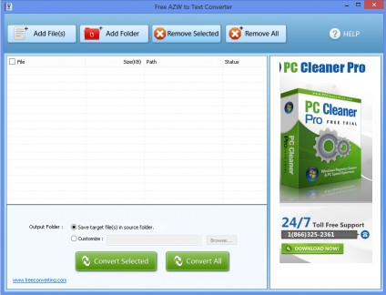 Download Free AZW to Text Converter